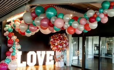 Гирлянда из воздушных шариков Organic LOVE