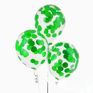 Воздушный шар конфетти Лайма