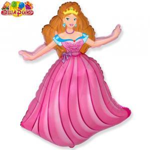 Воздушный шар с гелием  Принцессы.