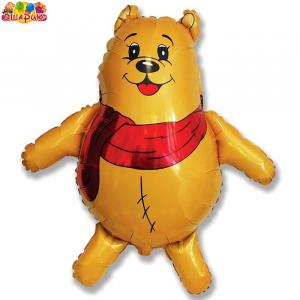 Воздушный шар с гелием Медвежата.