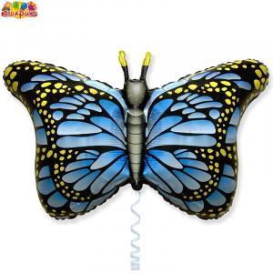 Воздушный шар с гелием  Бабочки.