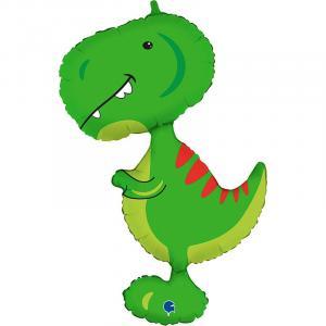 Воздушный шар с гелием Малыш Тираннозавр.
