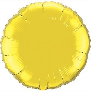 Воздушный шар Круг Золото.