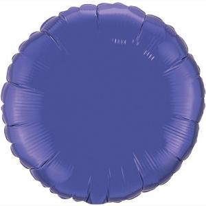 Воздушный шар Круг Фиолетовый.
