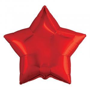 Воздушный шар Звезда Красный.