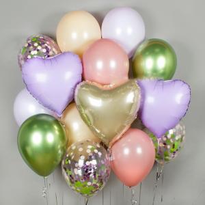 Сет из воздушных шаров Melody of spring.