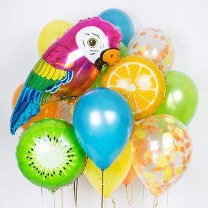 Букет из воздушных шаров Тропический рай.