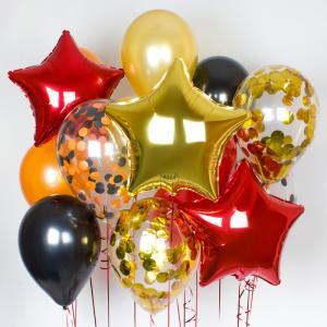 Букет из воздушных шаров День победы.